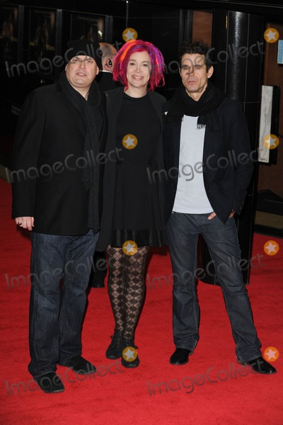 Andy Wachowski Photo - Andy Wachowski Lana Wachowski and Tom Twyker arrives for the Cloud Atlas premiere at the Curzon Mayfair London18022013 Picture by Steve Vas  Featureflash