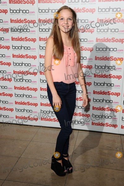 Eden Taylor-Draper Photo - Eden Taylor Draper arriving for the Inside Soap Awards Launch Party at Rosso Restaurant Manchester 09072012 Picture by Steve Vas  Featureflash