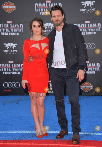 Chloe Bennet Photo - LOS ANGELES CA April 12 2016 Actress Chloe Bennet  actor boyfriend Austin Nichols at the world premiere of Captain America Civil War at the Dolby Theatre HollywoodPicture Paul Smith  Featureflash