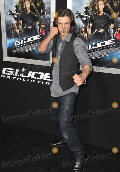 Leo Howard Photo - Leo Howard at the Los Angeles premiere of his movie GI Joe Retaliation at the Chinese Theatre HollywoodMarch 28 2013  Los Angeles CAPicture Paul Smith  Featureflash