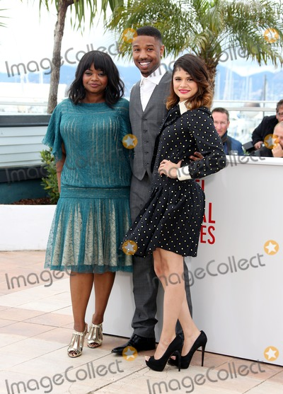 Octavia Spencer Photo - Octavia Spencer Michael B Jordan Melonie Diaz66th Cannes Film Festival - Fruitvale Station photocallCannes France 16052013 Picture by Henry Harris  Featureflash