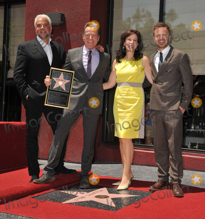 Frankie Muniz Photo - Bryan Cranston with Malcolm in the Middle co-stars Frankie Muniz Jane Kaczmarek  John OHurley on Hollywood Walk of Fame where Bryan Cranston was presented with the 2502nd star on the Hollywood Walk of FameJuly 16 2013  Los Angeles CAPicture Paul Smith  Featureflash