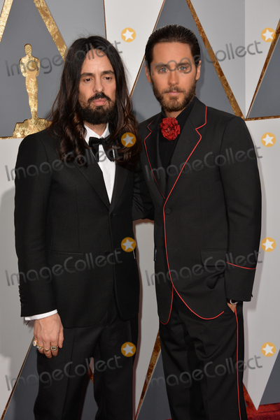 Alessandro Michele Photo - Actor Jared Leto  designer Alessandro Michele at the 88th Academy Awards at the Dolby Theatre HollywoodFebruary 28 2016  Los Angeles CAPicture Paul Smith  Featureflash