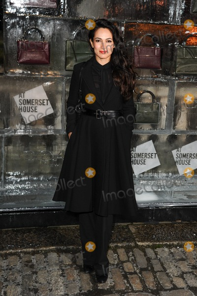 Asli Bayram Photo - Asli Bayram arriving for the opening of the Somerset House Ice Rink 2013 London 14112013 Picture by Steve Vas  Featureflash