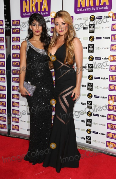 Abi Clarke Photo - Abi Clarke and Jasmin Walia at the NRTA - National Reality TV Awards 2013 held at the HMV Forum London 16092013 Picture by Henry Harris  Featureflash