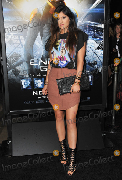Kylie Jenner Photo - Kylie Jenner at the Los Angeles premiere of Enders Game at the TCL Chinese TheatreOctober 28 2013  Los Angeles CAPicture Paul Smith  Featureflash