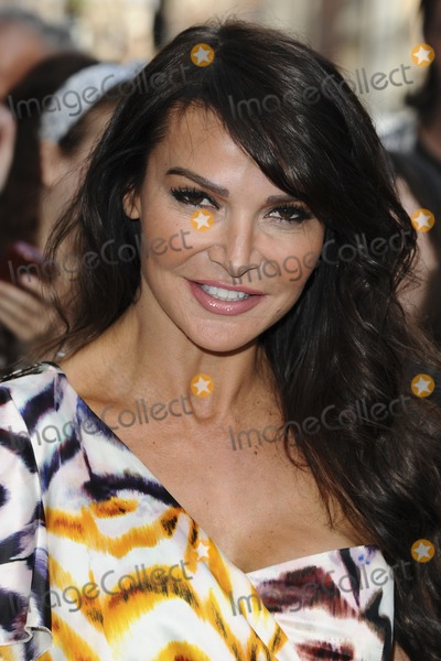 lizzie cundy. Lizzie Cundy arrives for the