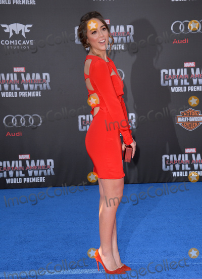 Chloe Bennet Photo - LOS ANGELES CA April 12 2016 Actress Chloe Bennet at the world premiere of Captain America Civil War at the Dolby Theatre HollywoodPicture Paul Smith  Featureflash