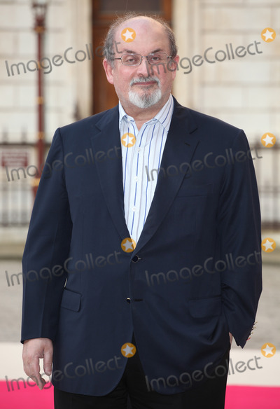 Salman Rushdie Photo - Salman Rushdie arriving for the Royal Academy of Arts Summer Exhibition Party at the Royal Academy of Arts London 30052012 Picture by Alexandra Glen  Featureflash