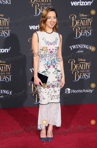 Aubrey Plaza Photo - HOLLYWOOD CA - MARCH 2 Actress Aubrey Plaza attends Disneys Beauty And The Beast World Premiere at El Capitan Theatre on March 2 2017 in Hollywood California  (Photo by Barry KingImageCollectcom)