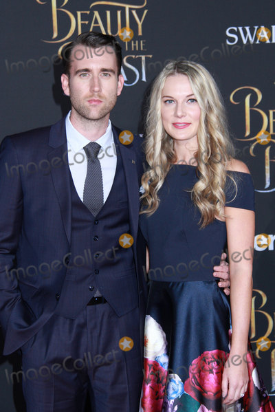 Angela Jones Photo - Matthew Lewis Angela Jones 03022017 The World Premiere of Beauty and the Beast held at the El Capitan Theater in Hollywood CA Photo by Izumi Hasegawa  HollywoodNewsWireco