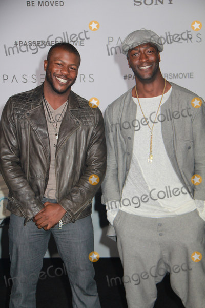 Aldis Hodges Photo - Edwin Hodge Aldis Hodge 12142016 The World Premiere of Passengers held at the Regency Village Theatre in Los Angeles CA Photo by Izumi Hasegawa  HollywoodNewsWireco