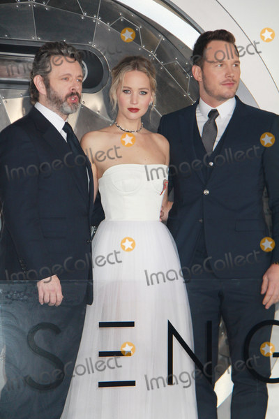 Jennifer Lawrence Photo - Michael SheenJennifer Lawrence  Chris Pratt 12142016 The World Premiere of Passengers held at the Regency Village Theatre in Los Angeles CA Photo by Izumi Hasegawa  HollywoodNewsWireco