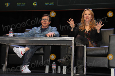 Lea Thompson Photo - Michael J Fox Lea Thompson 03192016 Silicon Valley Comic Con 2016 held at the San Jose Convention Center in San Jose CA Photo by Kazuki Hirata  HollywoodNewsWirenet