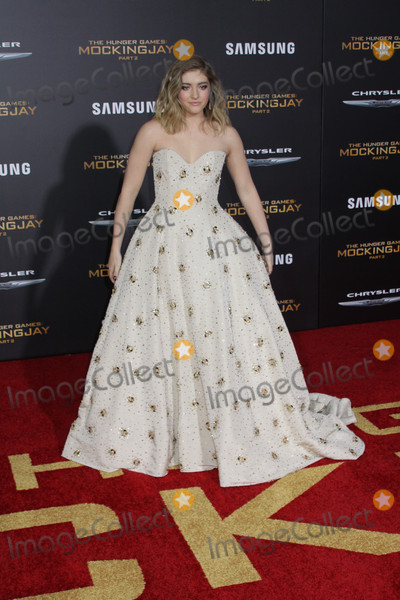 Willow Shields Photo - Willow Shields 11162015 The Los Angeles Premiere of The Hunger Games Mockingjay -  Part 2 held at Microsoft Theater in Los Angeles CA Photo by Izumi Hasegawa  HollywoodNewsWirenet