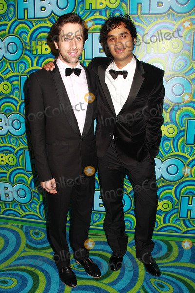 Kunal Nayyar Photo - Simon Helberg Kunal Nayyar  09222013 The 65th Annual Primetime Emmy Awards HBO After Party held at Pacific Design Center in West Hollywood CA Photo by Kazuki Hirata  HollywoodNewsWirenet