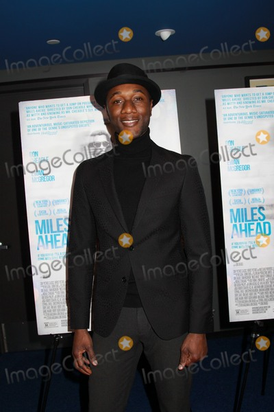Aloe Blacc Photo - Aloe Blacc 03292016 The Los Angeles Premiere of gMiles Aheadh held at The Writerfs Guild Theater in Beverly Hills CA Photo by Izumi Hasegawa  HollywoodNewsWireco