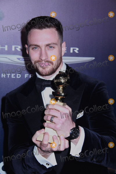 Aaron Taylor-Johnson Photo - Aaron Taylor-Johnson 01082017 The 74th Annual Golden Globe Awards NBCUniversal After Party held at The Beverly Hilton in Beverly Hills CA Photo by Izumi Hasegawa  HollywoodNewsWireco