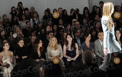 Alexis Dziena Photo - (L-R) Actress Alexis Dziena socialite Olivia Palermo singer Shenae Grimes actresses Kristen Bell Michelle Trachtenberg Mena Suvari producer Sestito Simone and actress Sophia Bush pictured during the Rebecca Taylor Fall 2010 Fashion Show during Mercedes-Benz Fashion Week at The Salon at Bryant Park in New York NY on February 14th 2010 (Pictured Alexis Dziena Olivia Palermo Shenae Grimes Kristen Bell Michelle Trachtenberg Mena Suvari Sestito Simone Sophia Bush)