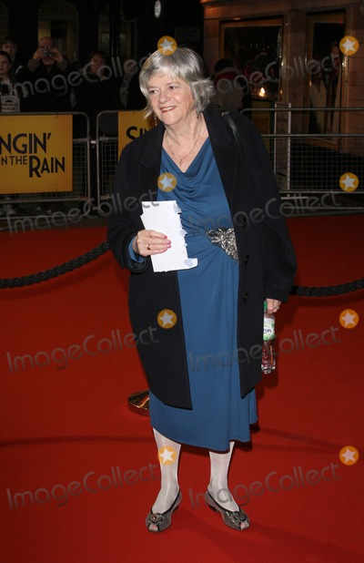 Ann Widdecombe Photo - London UK Ann Widdecombe at the Opening Night of Singing in the Rain held at the Palace Theatre Shaftesbury Avenue 15th February 2012Keith MayhewLandmark Media