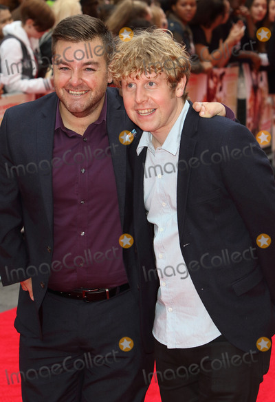 Alex Brooker Photo - London UK Alex Brooker and Josh Widdicombe at World Premiere of The Bad Education Movie at the Vue West End Leicester Square London on 20th August 2015 Ref  LMK73 -51822-210815Keith MayhewLandmark Media WWWLMKMEDIACOM