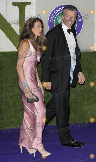 Annabelle Croft Photo - London UK Annabel Croft and Husband at the Wimbledon Champions Dinner held at the Inercontinental Hotel Park Lane 3rd July 2011Can NguyenLandmark Media