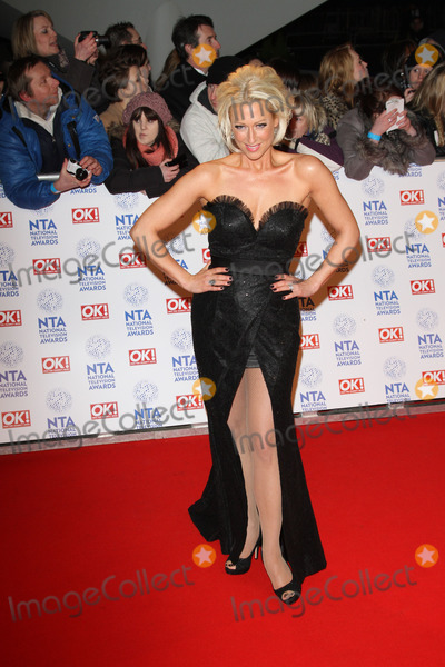 Faye Tozer Photo - London UK 230113Faye Tozer at the National Television Awards held at the O2 Arena in London23 January 2013Keith MayhewLandmark Media