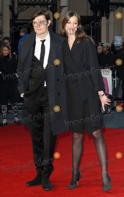 Alexandra Maria Lara Photo - LondonUK  Sam Riley and Alexandra Maria Lara  at the London Film Festival 2016 Closing Gala screening of Free Fire at the Odeon Leicester Square Londo 16th October 2016 RefLMK73-62601-171016 Keith MayhewLandmark Media WWWLMKMEDIACOM