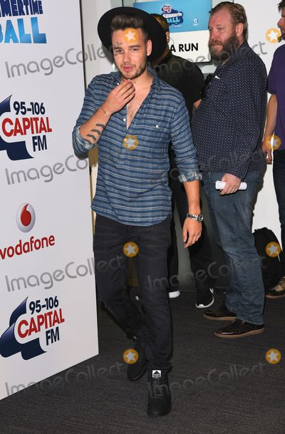 Liam Payne Photo - London UK     Liam Payne  of One Direction   at  Capitals Summertime Ball with Vodafone at Wembley Stadium Wembley on Saturday 6 June 2015Ref LMK392 -51534-070615Vivienne VincentLandmark Media WWWLMKMEDIACOM