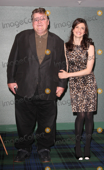 Robbie Coltrane Photo - London UK Robbie Coltrane and Rachel Weisz at the Photocall for The Brothers Bloom hled at the Sofitel Hotel  in London 27th  October 2008Keith MayhewLandmark Media