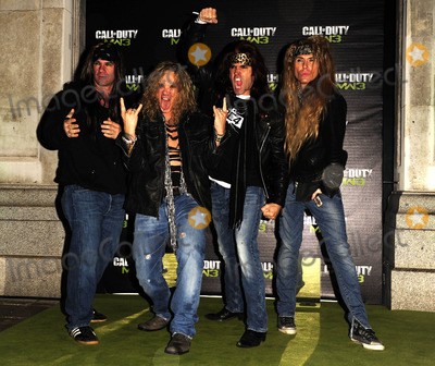 Steel Panther Photo - London UK Steel Panther at the Launch of Modern Warfare 3 held at Old Billingsgate Market London 7th November 2011SydLandmark Media