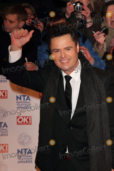 Donny Osmond Photo - London UK 230113Donny Osmond at the National Television Awards held at the O2 Arena in London23 January 2013Keith MayhewLandmark Media