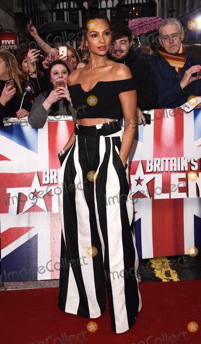 Alesha Dixon Photo - London UK Alesha Dixon at Britains Got Talent photocall held at The London Palladium Argyll Street London on Sunday 29 January 2017Ref LMK392-62709-290117Vivienne VincentLandmark Media WWWLMKMEDIACOM