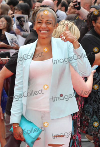 Amal Fashanu Photo - London England UK Amal Fashanu at World Premiere of The Expendables 3 at the Odeon Leicester Square London on August 4th 2014Ref LMK73-49257-050714Keith MayhewLandmark MediaWWWLMKMEDIACOM