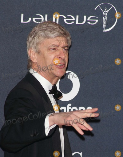 Arsene Wenger Photo - London UK  Arsene Wenger   at the Laureus World Sports Awards held at the Queen Elizabeth II Centre Westminster London 6th February  2012   Keith MayhewLandmark Media  EXCEPT GERMANY AUSTRIA AND SWITZERLAND
