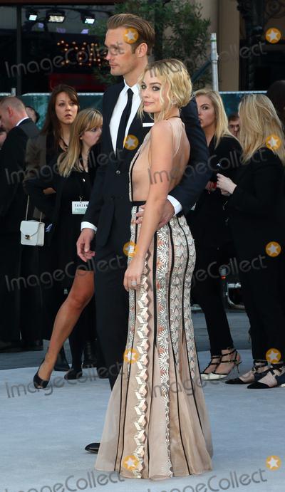Alexander Skarsgard- Photo - LondonUK  Margot Robbie and Alexander Skarsgard at the  UK Premiere of The Legend of Tarzan at the Odeon Leicester Square London 5th July 2016 Ref LMK73-60812-060716Keith MayhewLandmark Media WWWLMKMEDIACOM