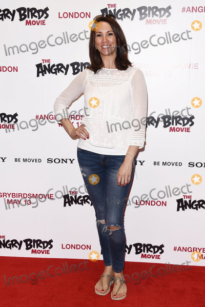 Andrea Mclean Photo - London UK  Andrea McLean at The Angry Birds Movie Red Carpet Gala Screening at Picturehouse Centra Shaftesbury Avenue London on Saturday 7 May 2016  Ref LMK392-60409-080516Vivienne VincentLandmark Media WWWLMKMEDIACOM