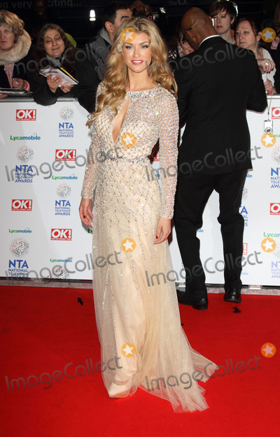 Amy Willterton Photo - London UK  Amy Willterton at the Red Carpet arrivals at the National Television Awards at the O2 Arena London on 22nd January 2014 RefLMK73-46450-230114 Keith MayhewLandmark MediaWWWLMKMEDIACOM