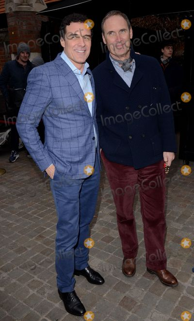 AA Gill Photo - London UK  Andre Balazs and A A Gill attend Working Title Pre BAFTA VIP Brunch at The Chiltern Firehouse Chiltern Street London on Saturday 7 February 2015Ref LMK392 -50541-080215Vivienne VincentLandmark Media WWWLMKMEDIACOM