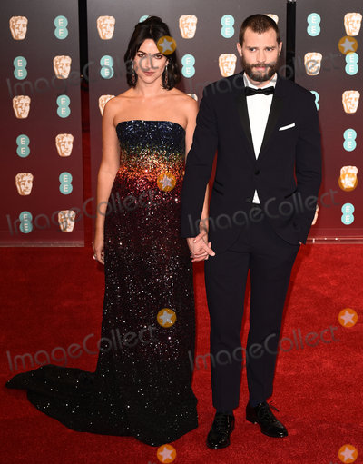 Amelia Warner Photo - London UK Amelia Warner and Jamie Dornan at the EE British Acadamy Film Awards (BAFTAs) at The Royal Albert Hall on Sunday 12 February 2017 Ref LMK392 -61671-130217Vivienne VincentLandmark Media WWWLMKMEDIACOM