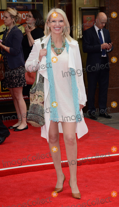 Anneka Rice Photo - London UK Anneka Rice at Miss Saigon Press Night at the Prince Edward Theatre London  May 21st 2014 Ref LMK392-48536-220514Vivienne VincentLandmark Media WWWLMKMEDIACOM