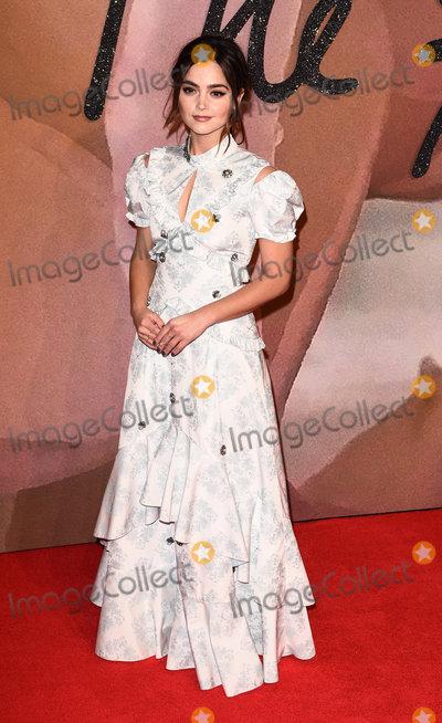 Jenna Coleman Photo - London UKJenna Coleman at The Fashion Awards held at The Royal Albert Hall South Kensington London on Monday 5 December 2016Ref LMK392-61340-061216Vivienne VincentLandmark Media WWWLMKMEDIACOM