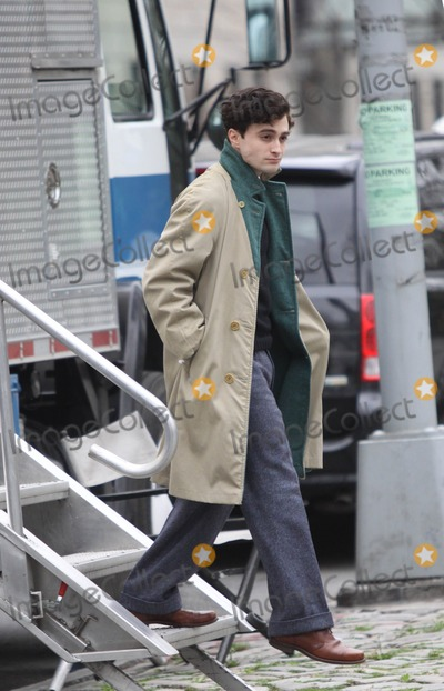 Allen Ginsberg Photo - New YorkNYUSA   Danielle Radcliffe  on the set of Kill Your Darlings on 104Street and 5 Avenue Radcliffe plays Allen Ginsberg  in a story set in 1944 where a murder brings together many writers and poets who would later become famous  New York 21st March 2012 Ben LarsenLandmark Media