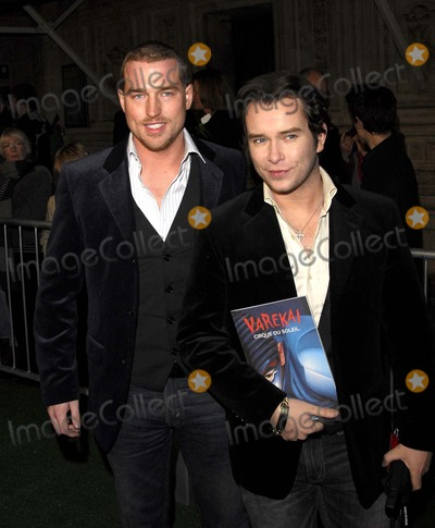 Andrew Cowles Photo - London UK Stephen Gately and Andrew Cowles arriving for the Cirque Du Soleil Varekai Premiere at the Royal Albert Hall London08 January 2008SYDLandmark Media