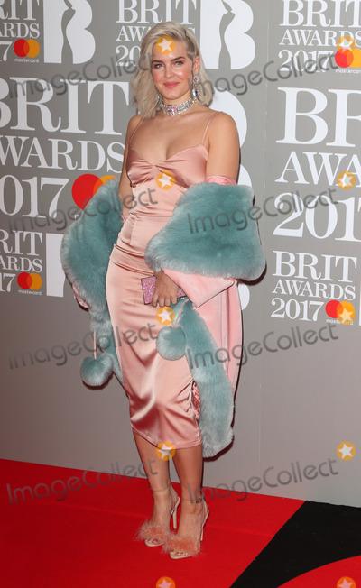 Anne Marie Photo - London UK Anne-Marie at The BRIT Awards 2017 at The O2 Peninsula Square London on February 22nd 2017Ref LMK73-63022-230217Keith MayhewLandmark MediaWWWLMKMEDIACOM