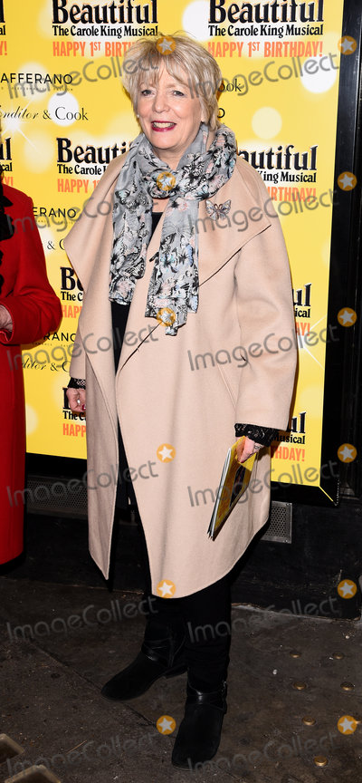 Alison Steadman Photo - London UK  Alison Steadman  at  Beautiful - The Carole King Musical first birthday celebration at The Aldwych Theatre The Aldwych London  23 February 2016 Ref LMK392-60242-240216Vivienne VincentLandmark Media WWWLMKMEDIACOM