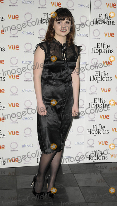 Gwyneth Keyworth Photo - London UK Gwyneth Keyworth at the Elfie Hopkins world premiere held at Vue West End cinema Leicester Square 16th April 2012Can NguyenLandmark Media