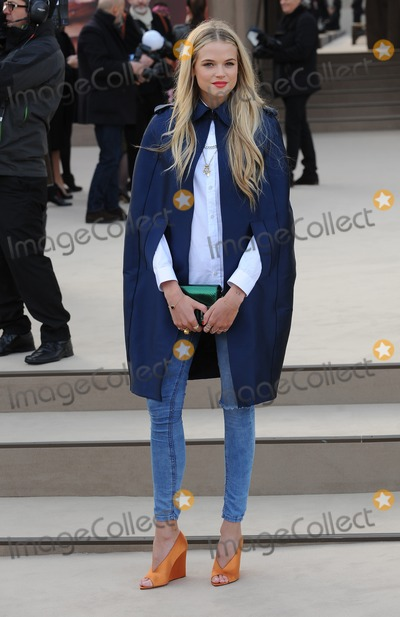 Gabriella Wilde Photo - London UK Gabriella Wilde at the Burberry Prorsum show during London Fashion Week FallWinter 201314 18th February 2013Landmark Media