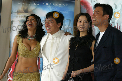 Tony Leung Photo - Cannes France Jackie Chan Kim Hee-Seon Tony Leung Ka fai and Mallika Sherawat at the photocall for the movie THE MYTH at the Cannes Film Festival17 May 2005Jenny RobertsLandmark Media