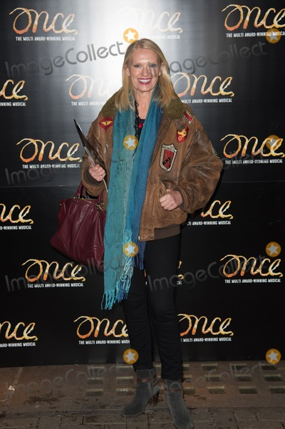 Anneka Rice Photo - London UK Anneka Rice at the Once Press Night featuring Ronan Keating in the lead role of Guy at The Phoenix Theatre London England UK on Tuesday 25th November 2014Ref LMK370-50170-261114Justin NgLandmark MediaWWWLMKMEDIACOM